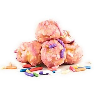 You can celebrate like it's your birthday everyday with our Birthday Cake flavored popcorn.