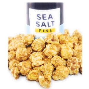 Salted Caramel Popcorn is a smooth and creamy tasting Caramel Popcorn sprinkled with just the right touch of sea salt to make this an irresistible snack.