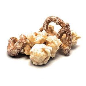 White Chocolate Pretzel Popcorn