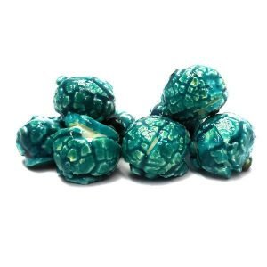 Blue Raspberry Flavored Candied Popcorn