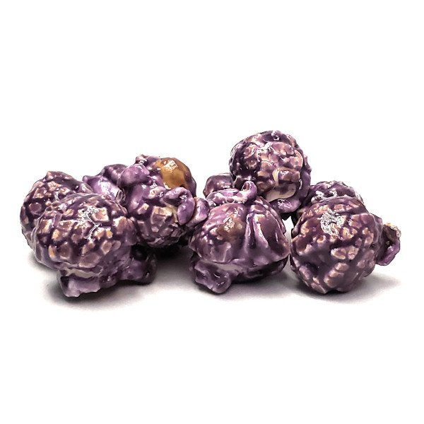 Grape Flavored Candied Popcorn