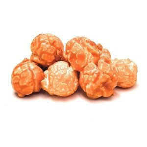 Orange Candied Flavored Popcorn